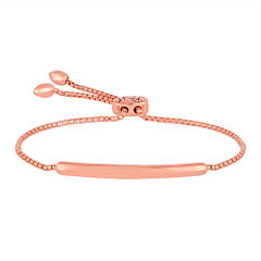 Rhythm and Muse 14K Rose Gold Over Silver Bracelet