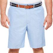 IZOD® Oxford Flat-Front Shorts - Big & Tall