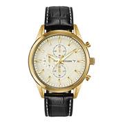 Citizen® Exclusive Mens Leather Strap Chronograph Watch