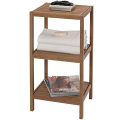 Creative Bath™ Eco Styles Bamboo 3-Shelf Tower