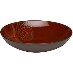 Red Vanilla Organic Set of 2 Round Serving Bowls