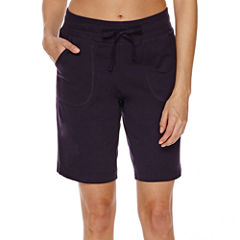 Made For Life Knit Bermuda Shorts-Talls