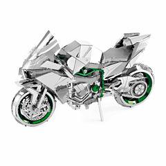 Fascinations ICONX 3D Metal Model Kit - Kawasaki Ninja H2R