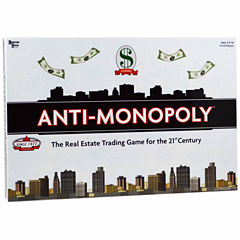 University Games Anti-Monopoly Game