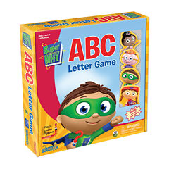 Briarpatch Super WHY ABC Letter Game