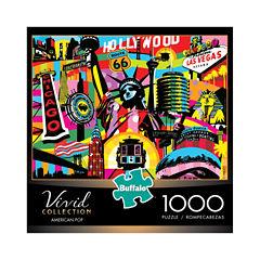 Buffalo Games Vivid Collection - American Pop: 1000 Pcs