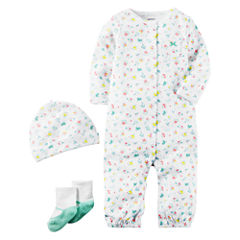 Carter's Little Baby Basics Girl 3-Piece Layette Set