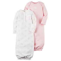 Carter's Unisex Long Sleeve 2-pk. Gowns - Baby