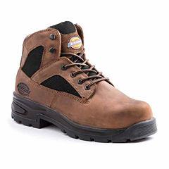 Dickies Buffer Mens Slip Resistant Steel Toe Work Boots