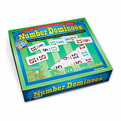 Puremco Number Dominoes - Premium Double 15 Set