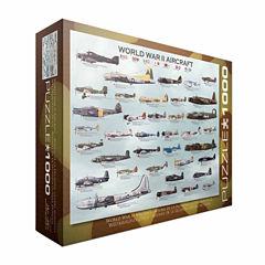 Eurographics Inc WWII Aircraft: 1000 Pcs