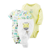 Carter's® 3-pc. Giraffe Layette Set - Babies newborn-24m