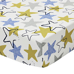 The Peanut Shell® Stargazer Fitted Crib Sheet