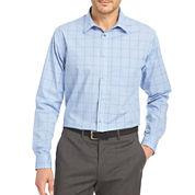 Van Heusen® Long-Sleeve Non-Iron Traveler Stretch Button-Front Shirt