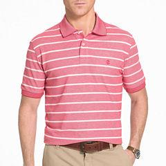 IZOD Short-Sleeve Newport Oxford Rugby Stripe Polo