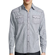 JC Los Angeles Long-Sleeve Woven Shirt