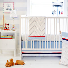 My Baby Sam First Mate 3-pc. Crib Bedding Set