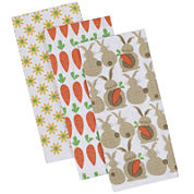 Design Imports Spring Garden Set of 3 Kitchen Towels