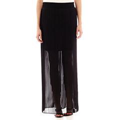 Worthington® Pleated Maxi Skirt - Petite