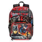 DC Comics Batman Vs. Superman Backpack with Lunchkit - Boys