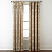 Royal Velvet® Allure Room-Darkening Rod-Pocket/Back-Tab Curtain Panel