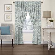 Charmed Life Rod-Pocket Curtain Panel