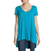 Decree® Short-Sleeve High-Low Swing Tee