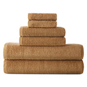 JCPenney Home™ Kushlon 6-pc. Towel Set