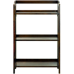 Stratford 3-Shelf Folding Bookcase