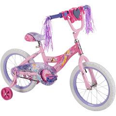 Huffy Disney Princess 16In Bike with Handlebar Magic Mirror