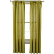 MarthaWindow™ Caldwell Rod-Pocket/Back-Tab Curtain Panel