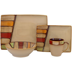 Sango Elements 16-pc. Dinnerware Set