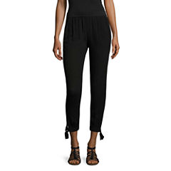 by&by Woven Flat Front Pants-Juniors