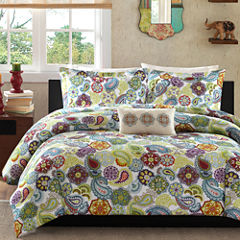 Mi Zone Asha Paisley Duvet Cover Set