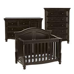 Bedford Baby Monterey 3-pc. Baby Furniture Set - Chocolate