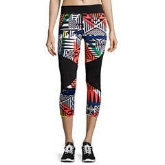 City Streets® Colorblock Performance Cropped Leggings - Juniors