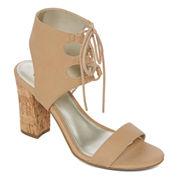 a.n.a Badia Womens Heeled Sandals