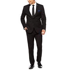 Nick Graham Black Pin Dot 2-pc. Suit Sets-Slim