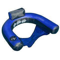Swimline Fabric Covered U-Seat Pool Inflatable