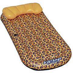 Swimline Wildthings Cheetah Lounge™ 69-in x 35-in Floating Pool Mattress