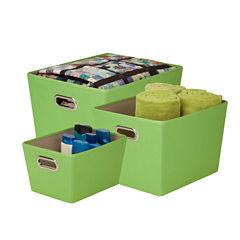 Honey-Can-Do® 3-pc. Nesting Tote Kit