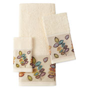 Croscill Classics® Mosiac Leaves Cotton Bath Towels