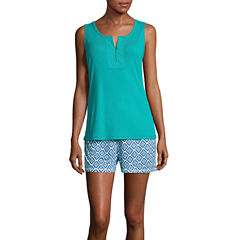 Liz Claiborne Shorts Pajama Set