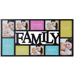Melannco® Family 10-Opening Collage Picture Frame