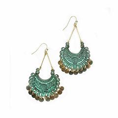 a.n.a Brass Chandelier Earrings