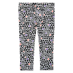 Okie Dokie Pattern Leggings - Baby Girls