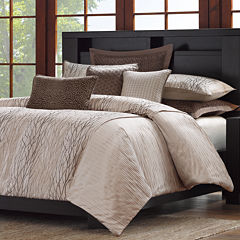 Madison Park Metropolitan Home Eclipse 3-pc. Duvet Cover Set and Accessories