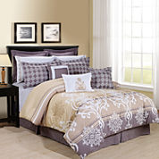 Cathay Home Tamson Complete Bedding Set with Sheets