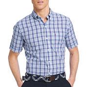 IZOD® Saltwater Blues Short-Sleeve Woven Shirt