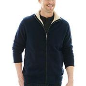 St. John's Bay® Fleece Mockneck Jacket